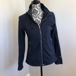 Kuhl blue zip hooded  jacket size small